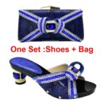 Blue Shoe and Bag