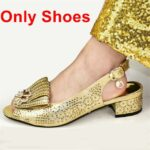 Gold Only Shoes