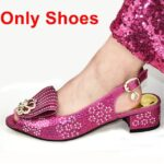 Fuchsia Only Shoes