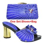 Blue Shoes and Bag