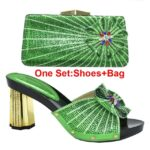 Green Shoes and Bag