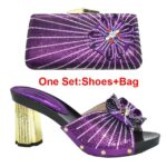 Purple Shoes and Bag